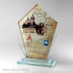 Statuetka szklana - producent statuetek - 10 lecie