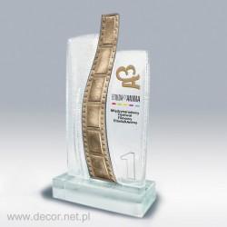 Statuetka szklana - producent statuetek - 25 lecie