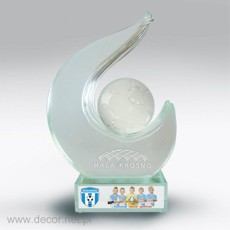 Statuetka szklana - producent statuetek - 50 lecie