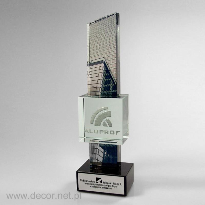 Statuetka szklana - producent statuetek - 100-lecia