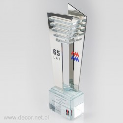 Glas Auszeichnungen - Glasstatuetten - Kristallpreise
