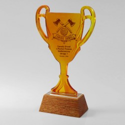 Glass Sports Cup - PUCH-35