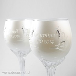 "Wedding glasses ""KROKUS"" 2..."