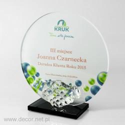 Statuette für den Mitarbeiter des Jahres