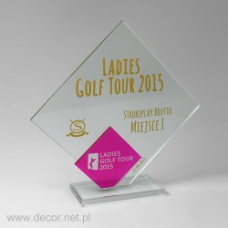 Ocenenie plaketa golfový turnaj
