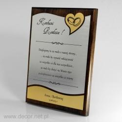 Hochzeitsandenken Diplom