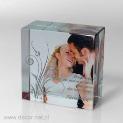Wedding Gift - Cube with...