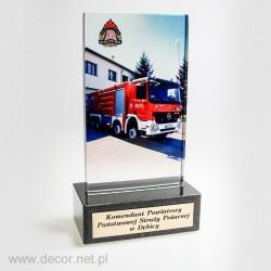 Statuetka dla straży pożarnej