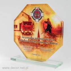 Prezent dla ochotniczej strzży pożarnej