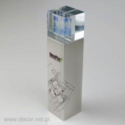 Biznesowa statuetka metalowa