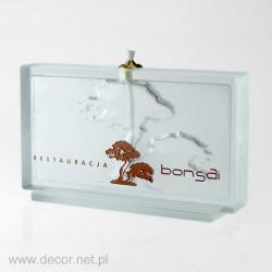 Olivgrüne Lampe S-83- Bonsai