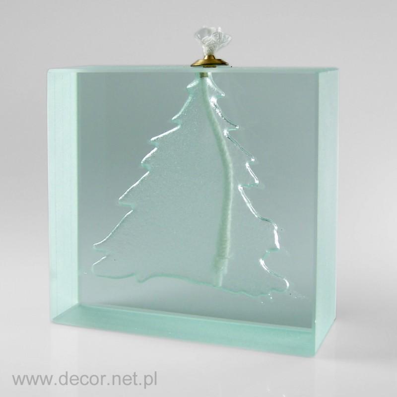 Lampka szklana