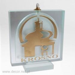 Olivgrüne Lampe S-Krosno