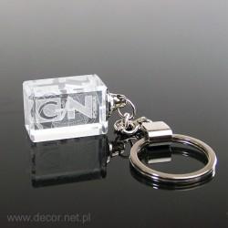 Crystal keychains, keyrings...