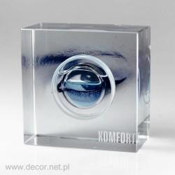 Przycisk szklany z płynami K-5