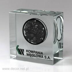 Przycisk szklany z węglem K-5