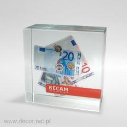 Przycisk szklany z fotografią K-5ZD Banki