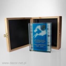 Przycisk szklany z fotografią K-8ZD