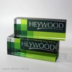 Szklany przycisk do papieru K-Heywood
