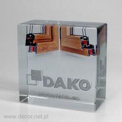 Przycisk szklany z fotografią K-5ZD Okna