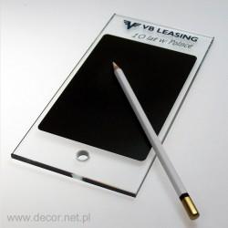 Tabliczka do pisania z ołówkiem