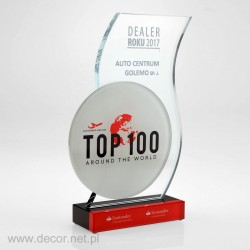 Glass award - dealer of the...