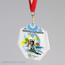 Medal metalowy na zawody w...