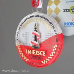 Szklany medal...
