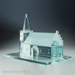 Glass miniature Church M-ARCH