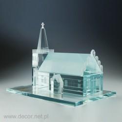 Miniatura kościoła wykonana...