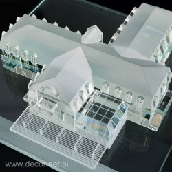 Glass miniature Hotel M-ARCH