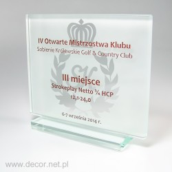 Statuetka na mistrzostwa klubu