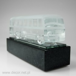 Glass miniature Bus M-SAM-014