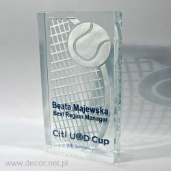 Noblesse-Glas Tennis-Pokal...