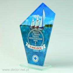 Nagroda sportowa, szklana...