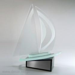 Sportowa statuetka szklana...