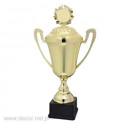 Puchar metalowy złoty z...