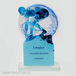 Statuetka akrylowa - pływacka PLX-02