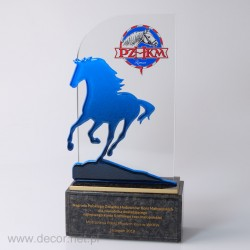 Statuetka na zawody konne...