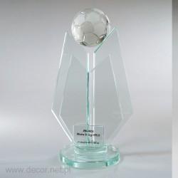 Football glass statuette...